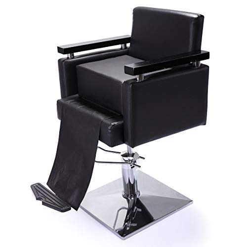 Salon Barber Seat Child Booster Styling Chair Cushion Black