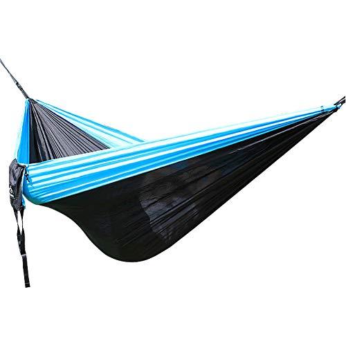 DCKJL hangmat 2 personen camping parachute hangmat, zonder accessoires, kunt u accessoires kopen omdat we accessoires hebben om uit te kiezen