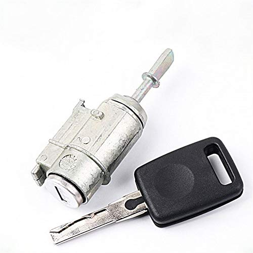 HNRLSL Cilindro de Bloqueo de automóviles Cilindro Auto Bloqueo de Control Central Cilindro de Bloqueo/Ajuste para Audi A6 / FIT FOR VW (Color : Silver)