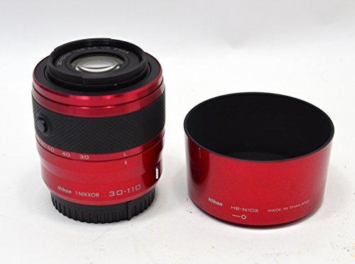 Nikon 1 30-110mm f/3.8-5.6 VR Nikkor Lens (Red)