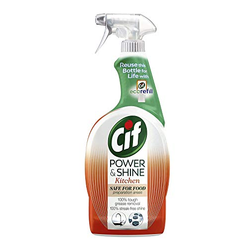 CIF Power and Shine Kitchen Cleaner 700ml with Orange and Tangerine Oil