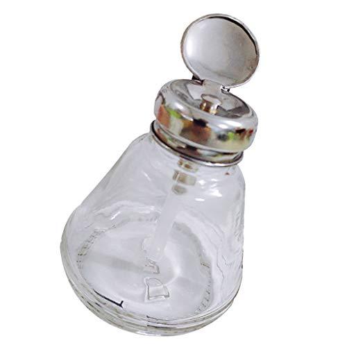 Leer Glas Dispenser Flasche Pumpflasche Flüssigkeitsspender Behälter für Cleaner,...