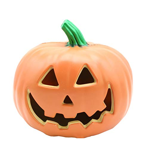 jieGorge Halloween Decor LED Pumpkin Lantern Scene layout Home Decoration, Decors for Home Christmas New Year (As Show)