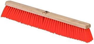 Polypropylene Bristles Pack of 12 18 Length Carlisle 3610221824 Flo-Pac Juno Style Hardwood Block Sweep Orange 18 Length
