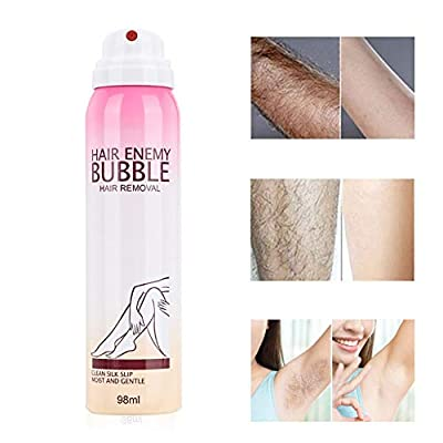 98ml Painless Bubble Painless Men and Woman Hair Removal Cream for Women Hair Remover Spray Depilatory Cream