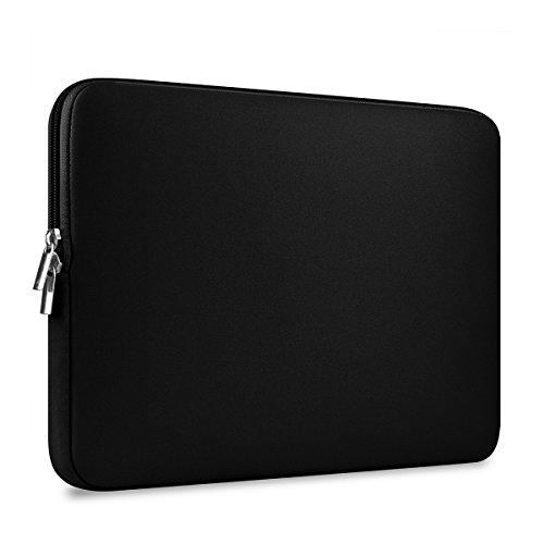 Rosenice - custodia per computer portatile 13pollici, Macbook Mac Air Pro Retina (nero, in neoprene impermeabile)