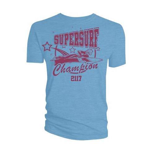 T-Shirt # M Unisex Blue # Supersurf Champion 2117 [Import]