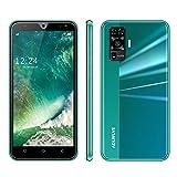 4G Mobiles Baratos Libres, Android 9.0,16GB ROM +2GB RAM Pantalla 5.5 Pulgadas, 3600mAh Smartphone Barato Dual SIM, Teléfonos Móviles Libres 8MP+5MP, Face ID (2 x Micro SIM +1 MicroSD)- (Verde)