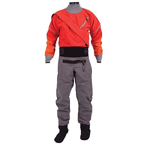Kokatat Men's Gore-Tex Meridian Drysuit-Red-L