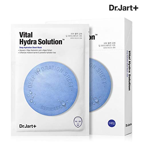 Dr. Jart+ Dermask Water Jet Vital Hydra Solution 5 Sheets Hyper Adhesion Moistur