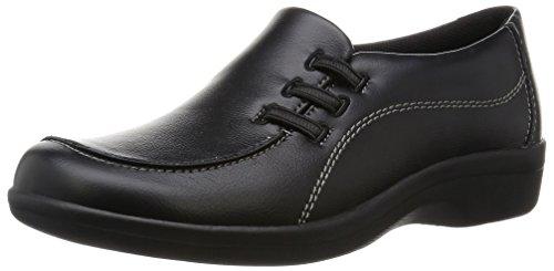 [トパーズ] スニーカーブーツ 超軽量 レディース ひもなし ゆったり幅広 ウォーキングシューズ 10 ブラック 23.5 cm 4E