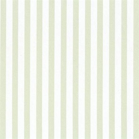 SY33958 Galerie Stripes 2 green white narrow striped wallpaper