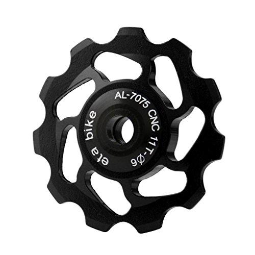 hunpta 11T MTB Ceramic Bearing Jockey Polea De Rueda para bicicleta de...