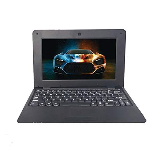YCHCDR Netbook PC, 10.1 Pulgadas, 1 GB + 8 GB, Acciones S500 Quad-Core 1.5GHz en Android 5.1, Wi-Fi, USB, SD, RJ45, Interfaz HDMI HD (Color : Black)