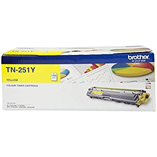 Brother Genuine TN251Y Printer Toner Cartridge, Yellow, Page Yield Up to 1400 Pages, (TN-251Y) Compatible with: MFC-9335CDW, HL-3150CDN, HL-3170CDW, MFC-9140CDN, MFC-9330CDW, MFC-9340CDW (B0765L3GVZ) | Amazon price tracker / tracking, Amazon price history charts, Amazon price watches, Amazon price drop alerts