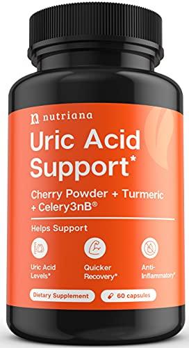 Uric Acid Cleanse Support Tart Cherry Capsules
