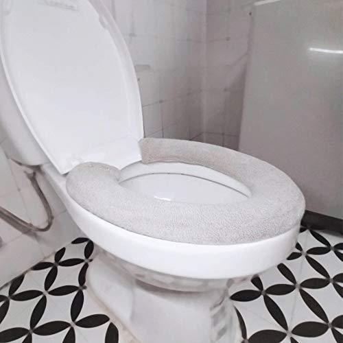 Rubywood & chili - Sedile per WC pieghevole, 3 pezzi, morbido da viaggio, caldo, universale