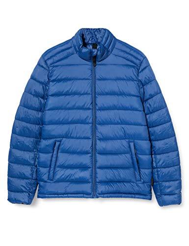 Springfield Acolchada Bas-c/13 Chaqueta Deportiva, Azul (Medium_Blue 95758513), L (Tamaño del Fabricante: L) para Hombre