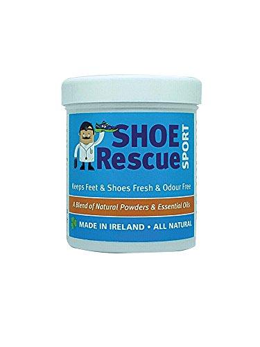 Shoe Rescue Polvos para pies y calzado Elimina el olor de