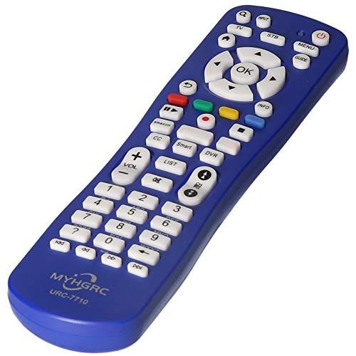 Docooler Mando a distancia de repuesto URC-7710 universal para Smart TV de repuesto compatible con Samsung LG Sony Smart TV TV TV TV TV Box digital Smart TV Box Televisión