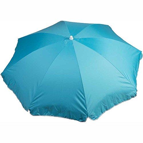 WDK Partner Bleu Parasol DIAMETRE 140 CM Polyester, 7x7x85 cm
