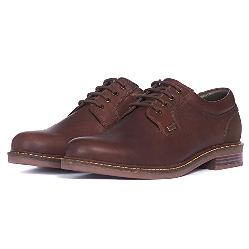 Barbour Herren Herrington Leder Arbeit Smart Casual Walking Metall Logo Schuhe EU 39-47