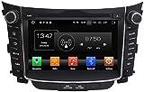 MIVPD Coche Estéreo GPS Navegación Compatible con Hyundai I30 2011-2016 Auto Audio Player Android...