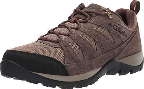 Columbia Redmond V2 Zapatillas de Senderismo, Hombre, Marrón (Pebble/Dark Adobe 227), 43 EU