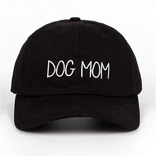 Yhtdhaq Enfermera de la Moda Bordado Sombrero Personalizado Hecho a Mano Gorra de béisbol Conejito Hija Moda Curvo Ocio Sombrero,Negro