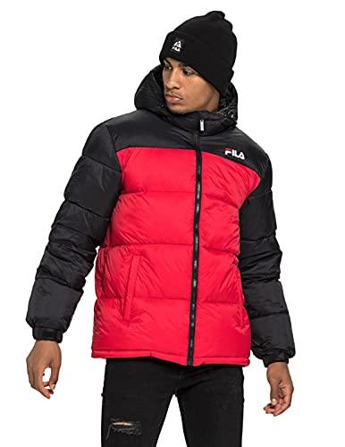FILA 687988 Veste et veste pour homme Rouge/noir Taille M