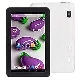 Tablet PC de Android 16GB, 10.1 Inch Allwinner A33 Quad Core 1.3GHz, RAM: 1GB (Color : White)