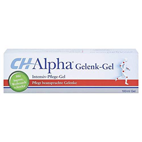 CH-Alpha Gelenk-Gel: Gelenke und Muskeln entspannen, mit Kollagen und Auszügen aus Ingwer, Weihrauch und Arnika, 100ml