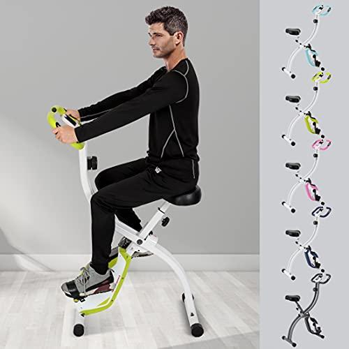 Ultrasport Heimtrainer F-Bike 150/200B mit Handpuls-Sensoren, mit/ohne Rückenlehne, faltbar - 7
