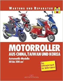 Motorroller aus China, Taiwan und Korea: Automatik-Modelle, 50 bis 200 ccm von Phil Mather ( 7. Juli 2014 )