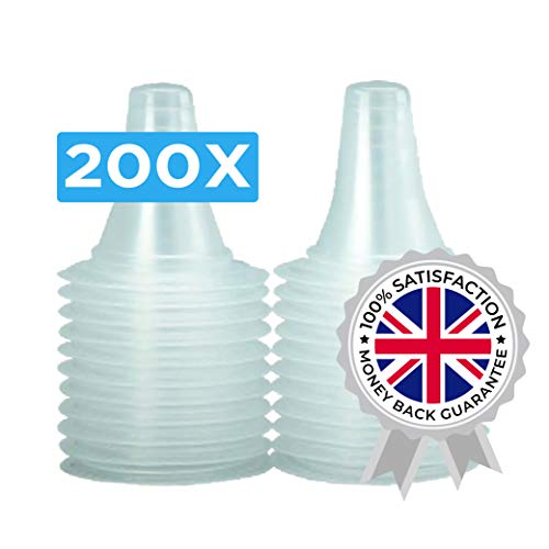 200x THERMOSCAN Lens Filters/Probe Covers for All Types of Ear Thermometer/Braun ThermoScan IRT/Pack of 200 Pieces