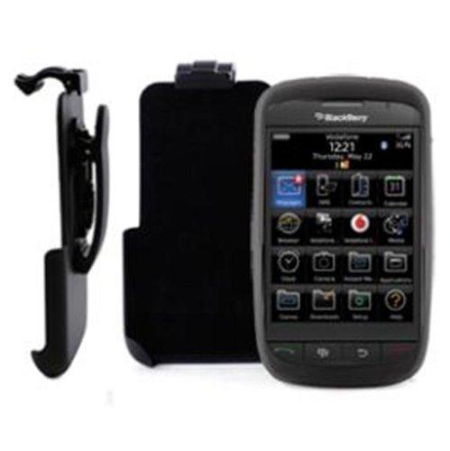 So'Axess TPUBB9520PACK TPU Handytasche mit Gürtelclip und Displayschutzfolie für BlackBerry Storm2 9520