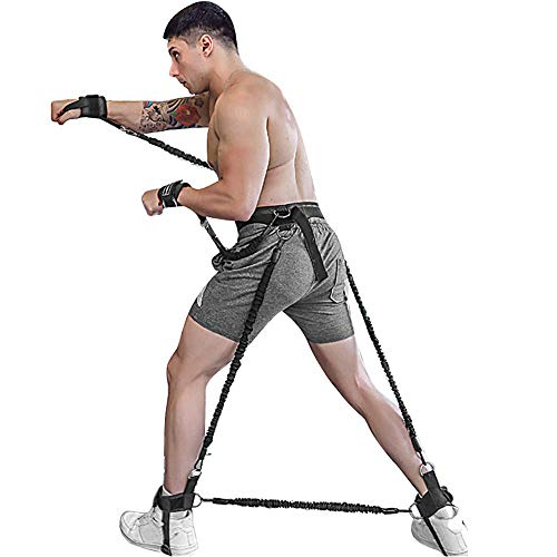 Banda pesada de ejercicios, bandas resistencia al cuerpo, conjunto correas estiramiento, mejora...