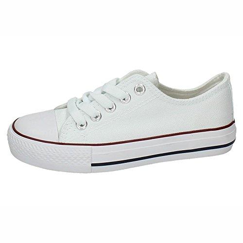 DEMAX 5-A1612A-12 Lonas Blancas NIÑA Zapatillas Blanco 31