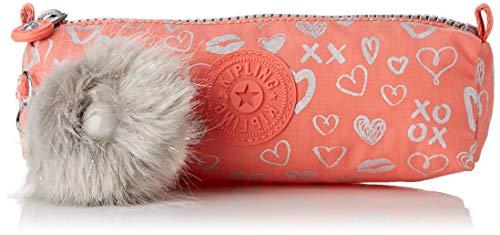 Kipling Freedom Estuches, 22 cm, 1 Liters, Multicolor (Hearty Pink Met)