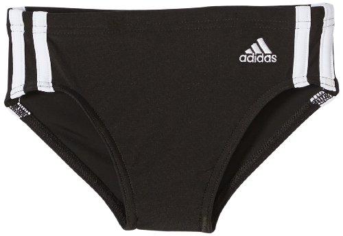 adidas Jungen Badehose 3-Stripes Swim Trunks, Blckdd/Wht, 152, Z33775