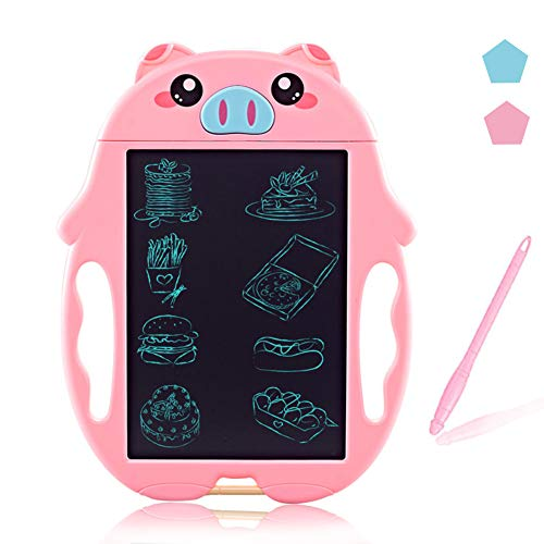 MEMOVAN LCD Doodle Board Drawing Tablet Digital Handwriting Pads Scribble Board for Kids, 3-6 Age Girl Educational Birthday Toy Gifts, Reusable Erasable Ewriter, Electronic Notepad for School, Office