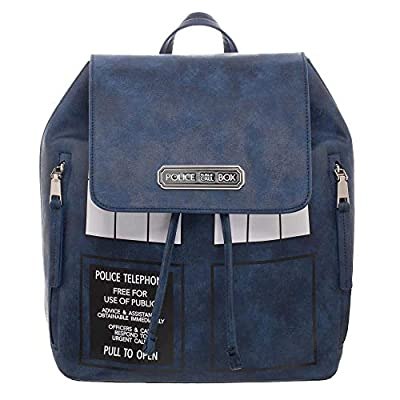 Doctor Who Tardis Mini Backpack Blue 35x35x19cm Polyester by Bioworld