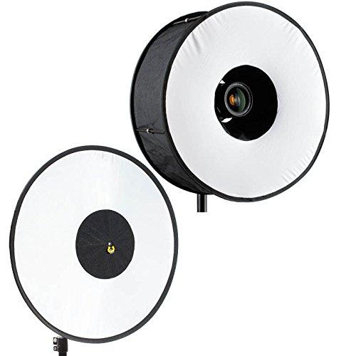 RoundFlash Lichtformer-Set für Aufsteckblitze Ring Ringblitz-Diffusor Dish Beauty Dish