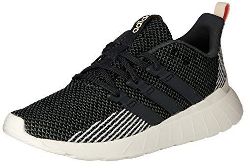 adidas Damen Questar Flow Fitnessschuhe, Mehrfarbig (Negbás/Grisei/Rospol 000), 37 1/3 EU