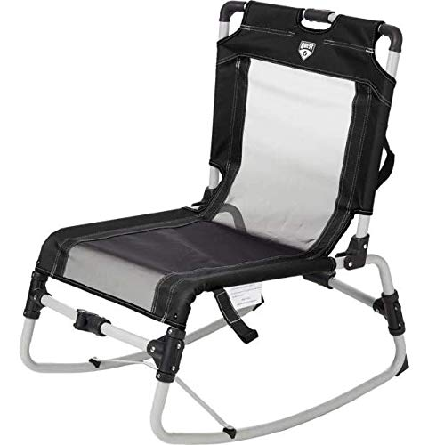 Quest Collapsible Low Rock Chair (Caviar)