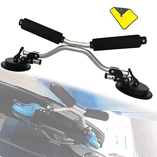 GKH2 Cargador de Ruedas Kayak con Toalla Absorbente, Asistencia de Carga Kayak...