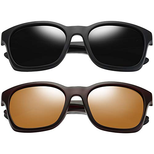 Joopin Square Sunglasses Polarized for Men (67% Off)