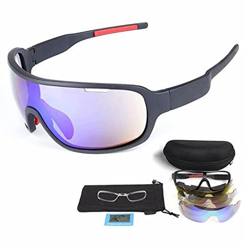 Pit Viper - Gafas de sol polarizadas para ciclismo y sol, para hombre y mujer, resistentes al viento, para conducción, gafas de golf, pesca, ciclismo, correr