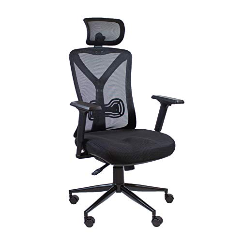 X Rocker Office Oscar High-Back Ergonomic Mesh Office Chair, Black