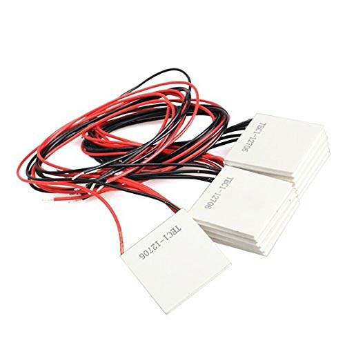 10Pcs TEC1-12706 Thermoelectric Cooler Heat Sink Cooling Peltier 12V 5.8A